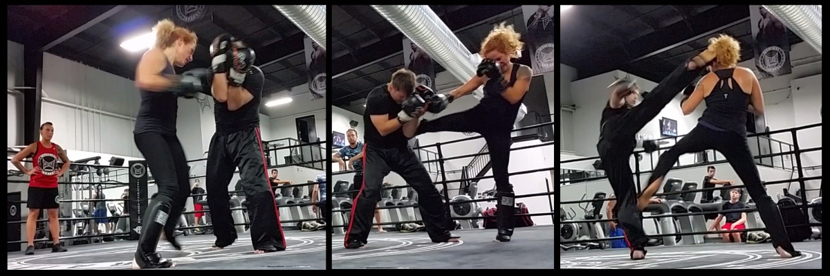 Martial Arts • Kickboxing at TapouT • 1 • Alica & Gabriel