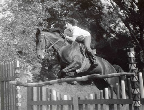 65.July - Keszthely · Eva Kendeova (Jumping with Furioso horse)