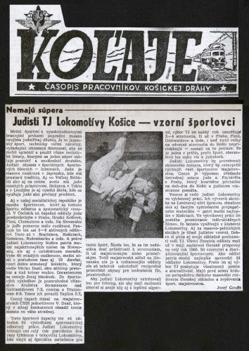 Article - Judisti TJ Lokomotívy Košice