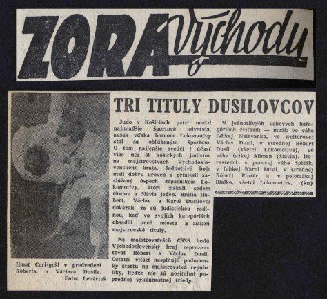 Article - Tri Tituly Dusilovcov