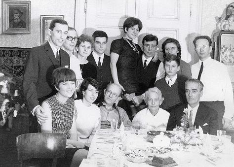 67.Dec.25 - Kosice · Dusil & Kende family (Engagement party)