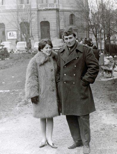 67.Dec - Košice · Eva Kendeova & Vaclav Dusil (park)
