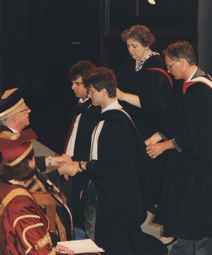91.May - Hamilton · Gabriel Dusil (McMaster University, Convocation, photo)