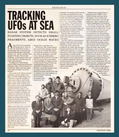 92.Mar - Hamilton · Tracking UFOs At Sea