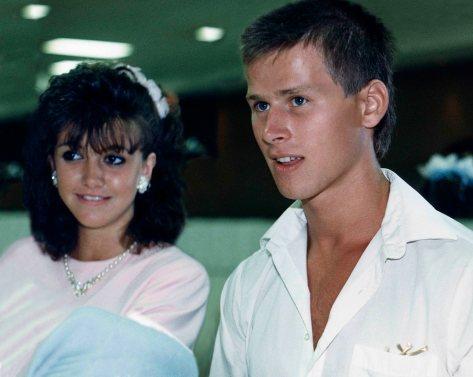 87.Jul.25 - Hamilton · Heather Brown & Gabriel Dusil (Wendy Evan's wedding)