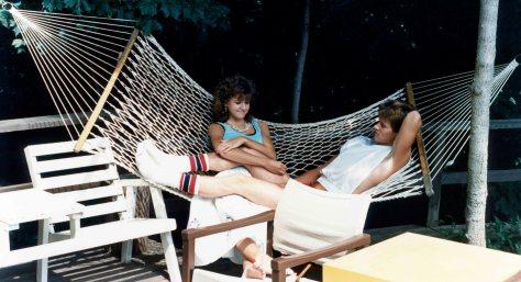 87.Jul - Burlington · Heather Brown & Gabriel Dusil (hammock)