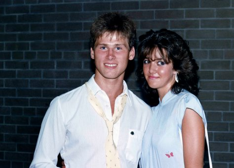 87.Jun - Burlington · Gabriel Dusil & Heather Brown (high school graduation)