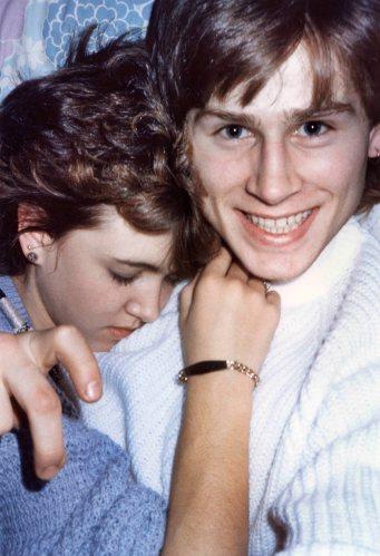 86.Aug - Burlington · Heather Brown & Gabriel Dusil (napping)