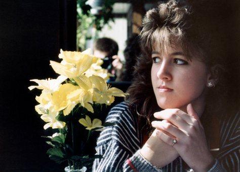87.Aug - Burlington · Heather Brown (yellow lilies)