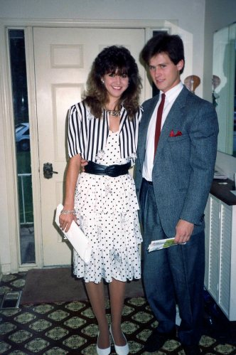 90.Mar - Burlington · Heather Brown & Gabriel Dusil (dinner date to Salvatore's)