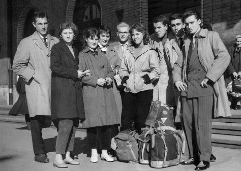61 - Košice · Juraj Bialko, Erika Mesterova-Dusilova, x, x, Joe Nalevanko, x, x, x, Vaclav Dusil (station)