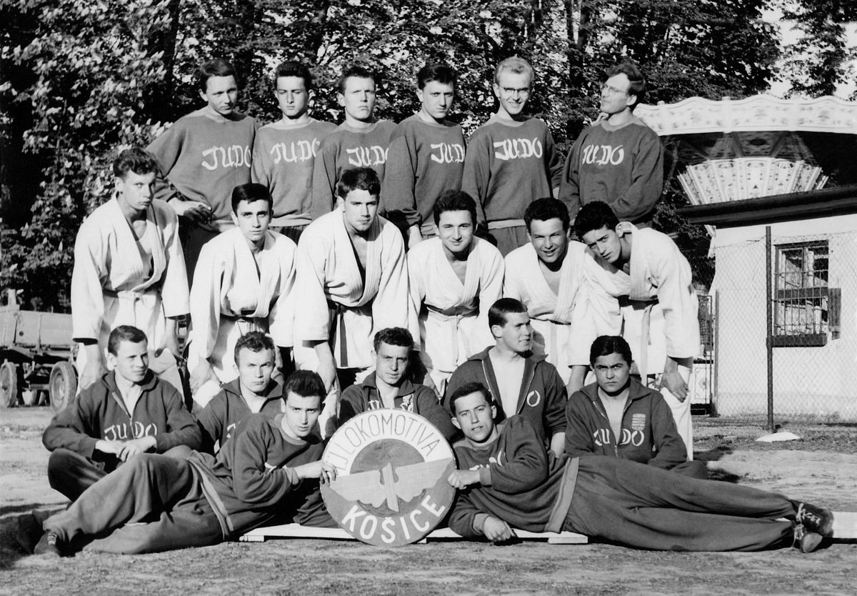 Martial Arts • Photo Restoration • 13 • Košice Judo • Memories of Judo, I