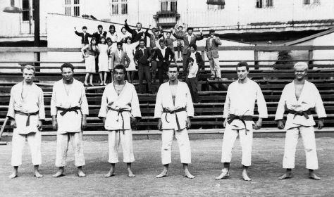 61 - Nitra · Edo Novak, x, x, Robert & Vaclav Dusil, Joe Nalevanko, (judo)