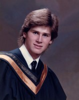 87.Jun - Burlington · Gabriel Dusil (Aldershot High School, grade 13, graduation photo)