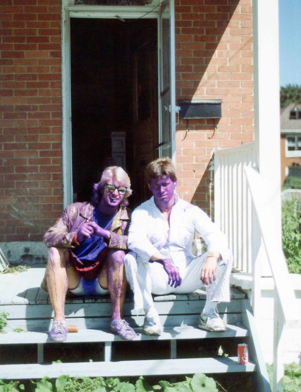 87.Sep - Kingston · Doug Little & Gabriel Dusil (Queens University, frosh week)