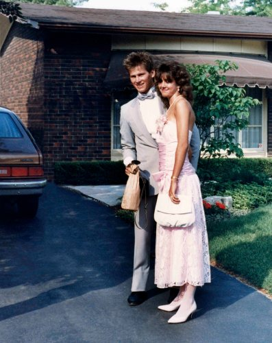 87.Jun.11 - Burlington · Gabriel Dusil & Heather Brown (high school prom)