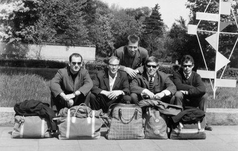 62 - Košice · x, Csaba Kende, Miro Brozek, Pepo Vosecky, x (travelling)
