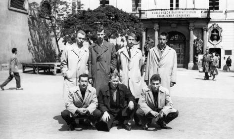 63 - Košice · Edo Novak, Miro Brožek, Igor Fridrich, x, Robert Dusil, Csaba Kende, Vaclav Dusil