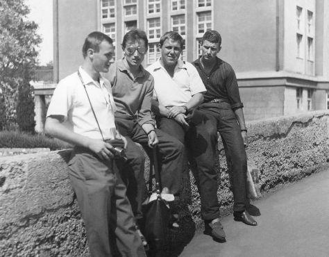 64 - Košice · Stefan Bartus, Vaclav Dusil, Pepo Vosecky & Vlado Makovsky (bridge)