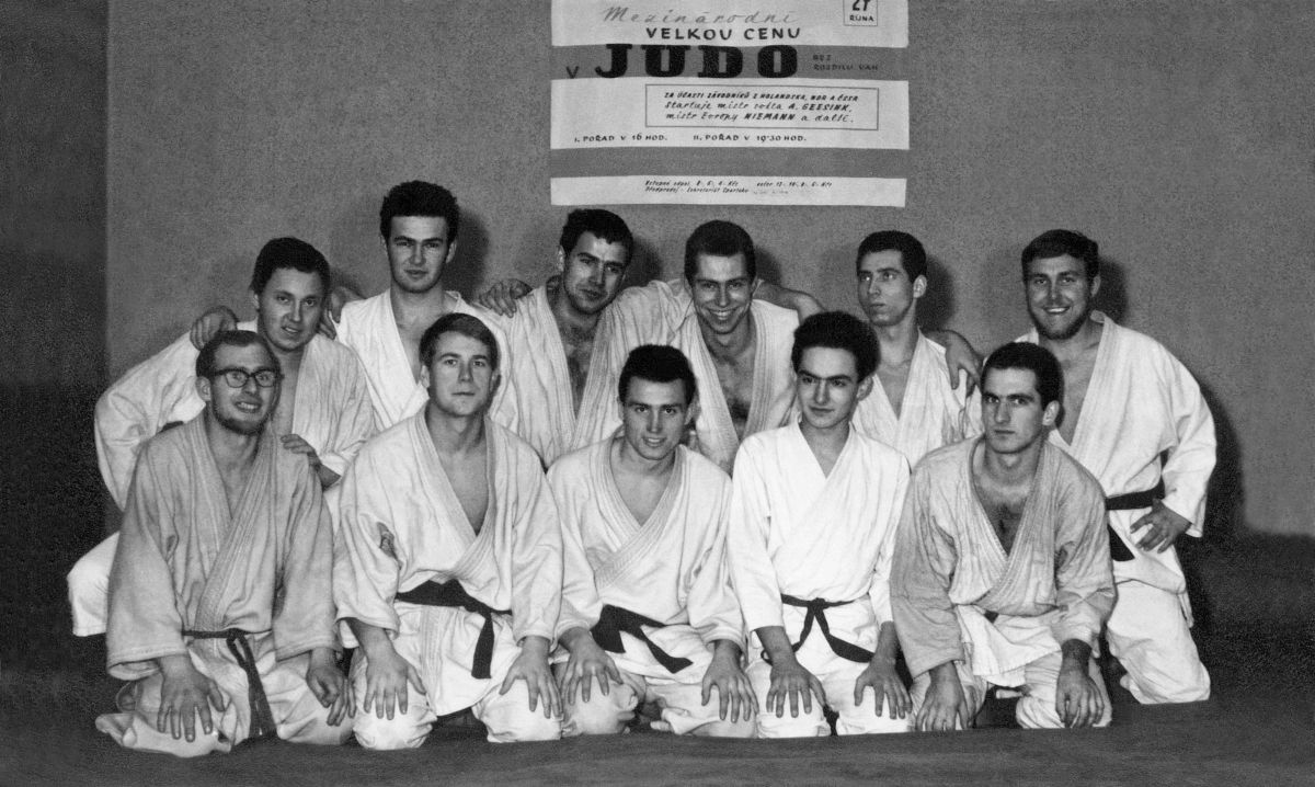 Martial Arts • Photo Restoration • 17 • Košice Judo • Memories of Judo, II