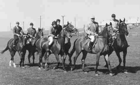 61.Jul - Královský Chlmec · Eva Kendeova (horses, Steeplechase riding team)