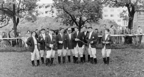 61.Jul - Královský Chlmec · Eva Kendeova (horses, Steeplechase team)