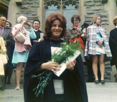 73.Jun - Guelph · Eva Dusil (College of Veterinary Medicine, graduation ceremony)