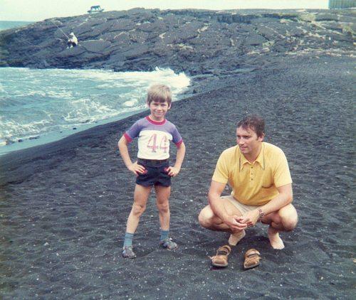 74.May - Hawaii · Gabriel & Vaclav Dusil (black sand beach)