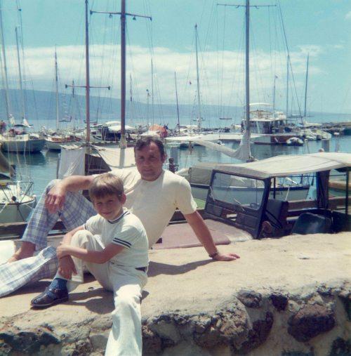 74.May - Hawaii · Gabriel & Vaclav Dusil (dock)