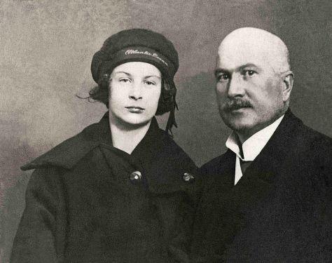 1923 - Spišská Nová Ves · Gyula & Valeria Tellery (Gyula - 1879.Aug.16 - 1932.Jan.19, restored)