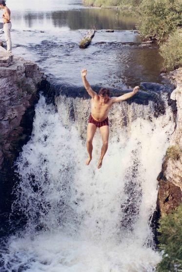 74 - Guelph · Vaclav Dusil (jumping into Rockwood falls #2)