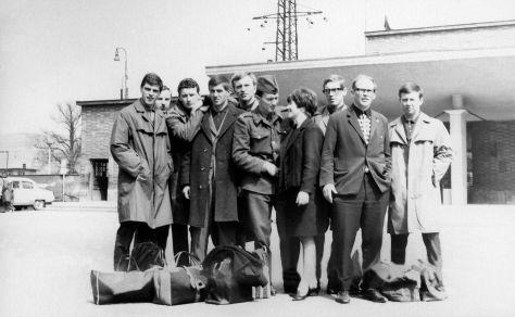 67.Dec - Morava · x, x, Vlado Makovsky, x, Karel Hrubicek, Vaclav Dusil, Eva Kendeova, x, Csaba Kende & Jano Misko (station)