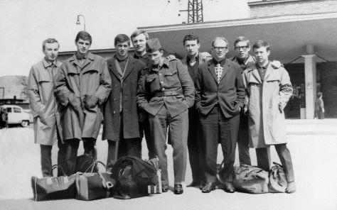 67.Dec - Morava · x, x, x, Karel Hrubicek, Vaclav Dusil, Vlado Makovsky, Csaba Kende, x & Jano Misko (station)