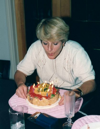 93.Oct.2 - Burlington · Eva Dusil (birthday candles)