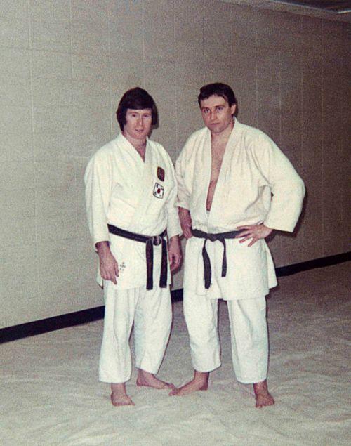 72 - Brampton - McCann & Vaclav Dusil (judo dojo)