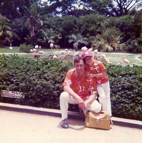 74.May - Hawaii · Vaclav & Gabriel Dusil (flamingos)