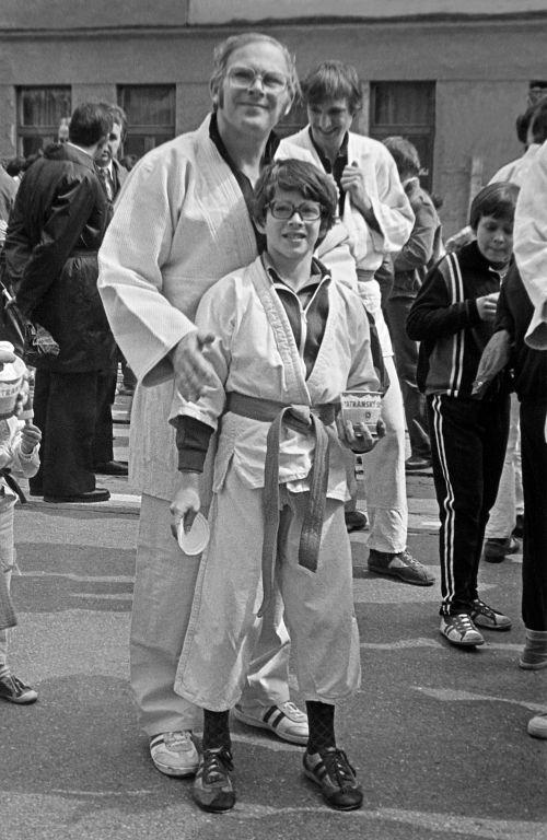 79.May.1 - Košice · Csaba & Richard Kende (judo, Komunisticky sprievod)