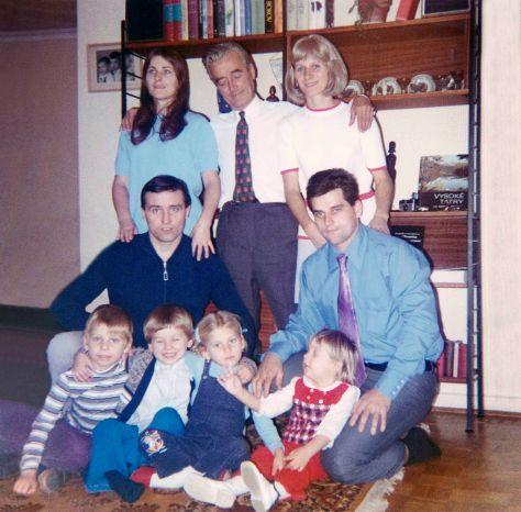 71 - Brampton · Roman, Gabriel, Sona, Vlasta, Vaclav, Kajo, Eva, Robert Sr., Erika Dusil