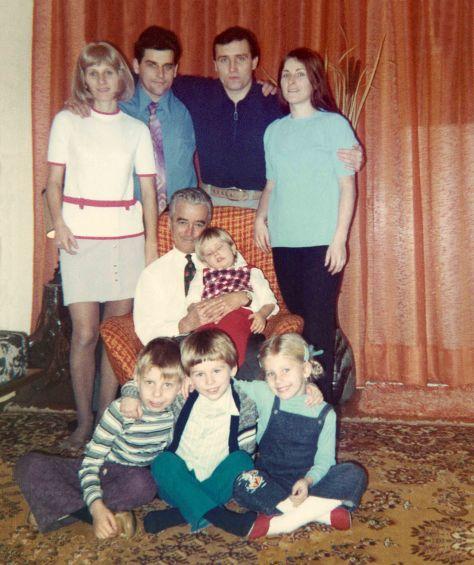 72 - Brampton - Erika, Karol, Vaclav, Eva, Robert Sr., Vlasta, Roman, Gabriel & Sona Dusil