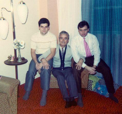 72 - Brampton - Karol, Robert Sr. & Vaclav Dusil (living room)
