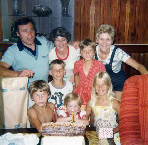 76.Jul.12 - Burlington · Vaclav, Eva, Vlasta, Erika, Gabriel, Roman, Alica & Sona Dusil (birthday)