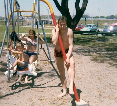 72.Jul - Brampton · Gabriel, Eva & Vaclav Dusil (park swings)