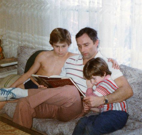 80.Jul - Burlington · Gabriel, Vaclav & Alica Dusil (reading)