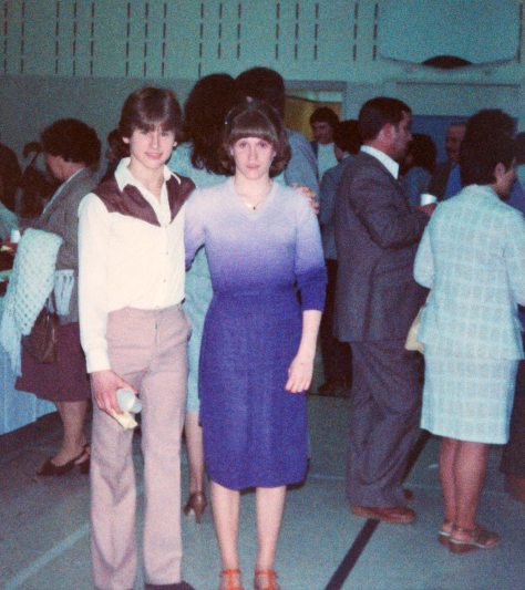 82.Jun - Burlington - Sandra Moore & Gabriel Dusil (Graduation, BYAC swimming, restored)