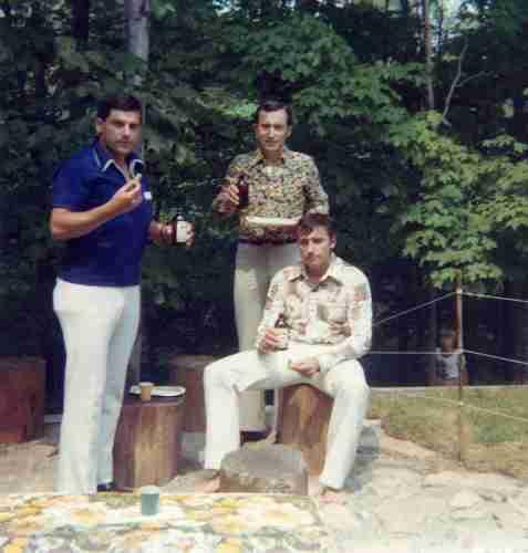 76 - Burlington · Karol, Vaclav & Robert Dusil (backyard)
