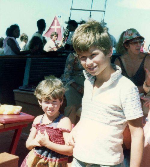77.Jul - Jamaica · Alica & Gabriel Dusil (boat trip)