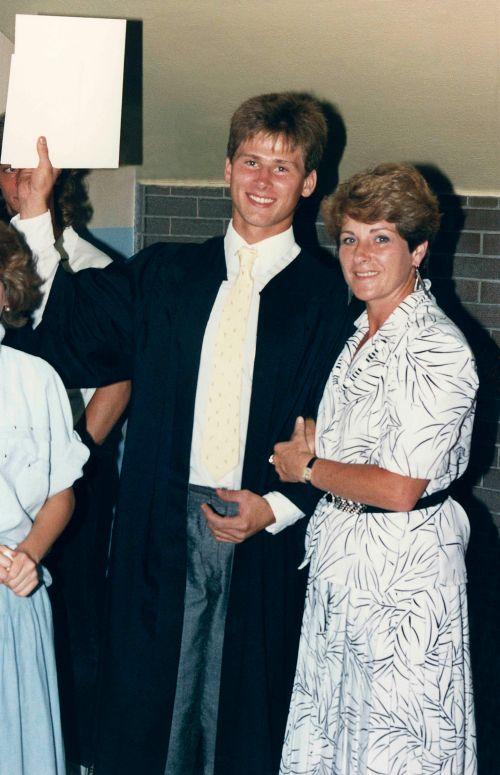 87.Jun - Burlington · Gabriel & Eva Dusil (high school graduation)