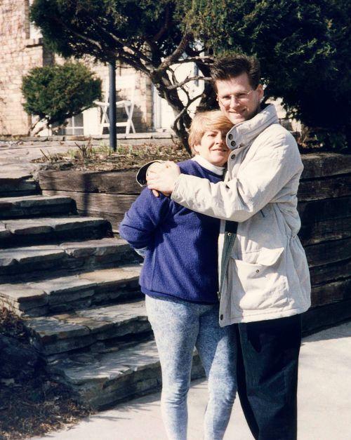 96.Apr.14 - Burlington · Eva & Gabriel (driveway)