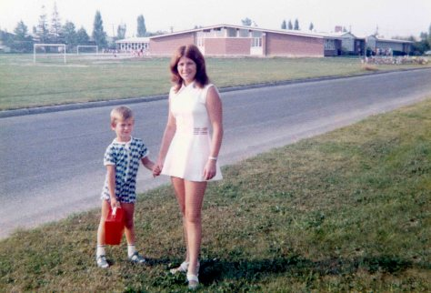 73.Sep - Brampton · Gabriel & Eva Dusil (1st day of school)