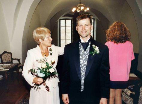 99.Sep.25 - Prague · Eva & Gabriel Dusil (wedding ceremony)